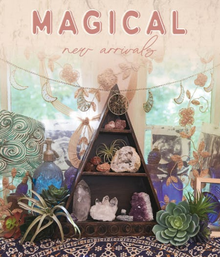 Magical New Arrivals