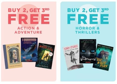 books a million buy 2 get one free