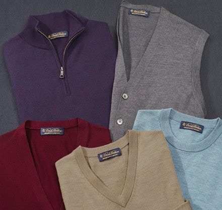 Your New Favorite Sweater from Brooks Brothers