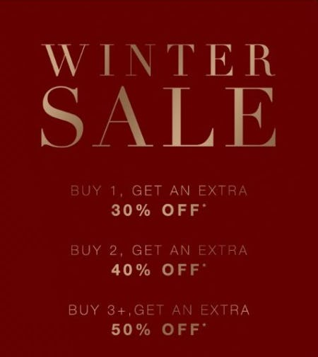 Winter Sale up to 50% Off from BCBG