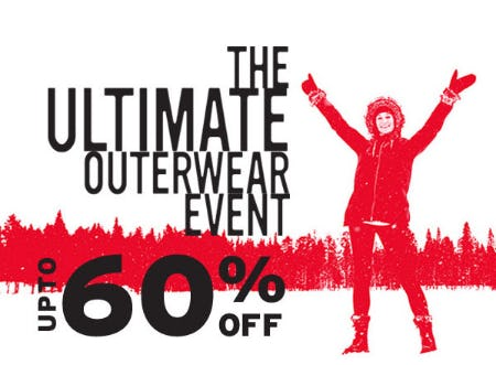 Up to 60% Off The Ultimate Outerwear Event from Eddie Bauer