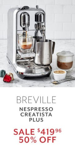 50% Off Breville from Sur La Table