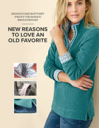 We Updated Our Customer-Favorite Sweatshirt from Orvis