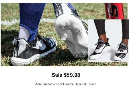 $59.98 Adult Adidas Icon V Bounce Baseball Cleats