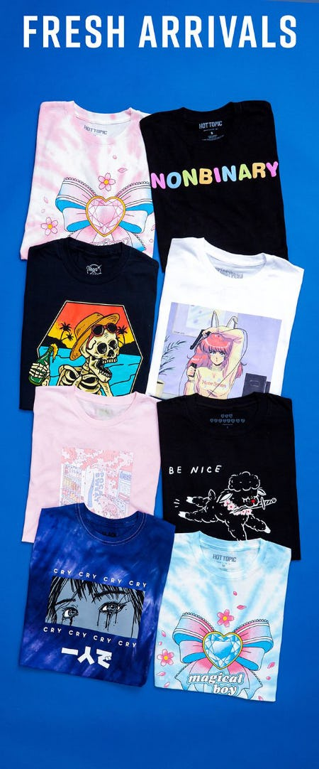 Meet Your New Favorite Tees from Hot Topic
