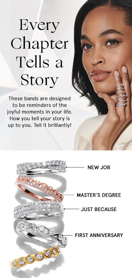 Treat Yourself With Jewelry That Celebrates Every Milestone from Zales The Diamond Store