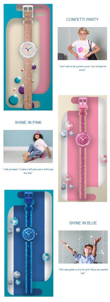 Flik & Flak's New Shine Bright Collection from Swatch