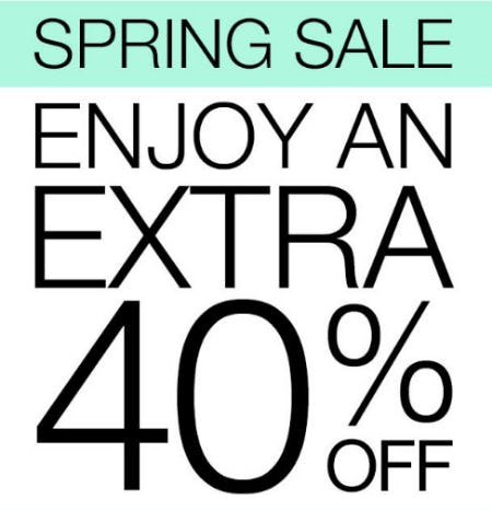 Extra 40% Off Spring Sale from Everything But Water