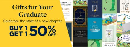 B1G1 50% Off Gifts for Your Graduate