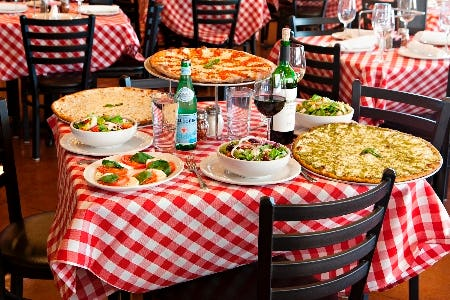 Teacher Appreciation Week Discount from Grimaldi's Coal Brick Oven Pizzeria