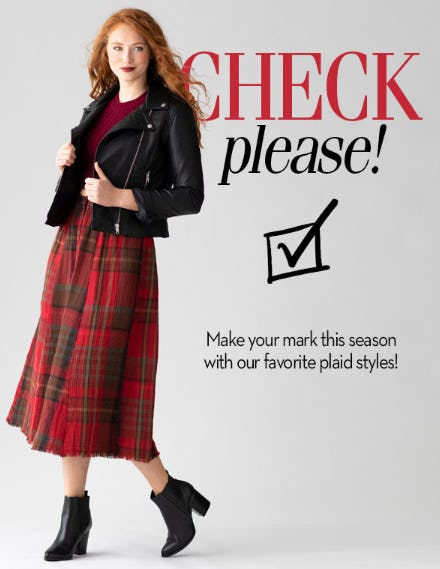 Our Favorite Color: Plaid