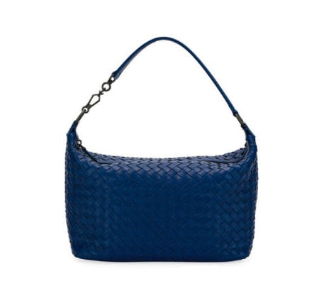 Bottega Veneta Small East-West Zip Hobo Bag from Neiman Marcus