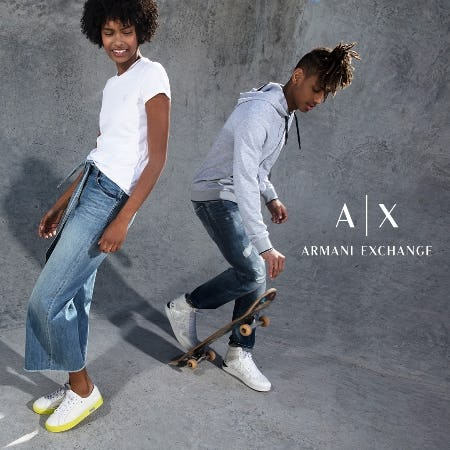 A|X Armani Exchange Memorial Day Sale from A|X Armani Exchange