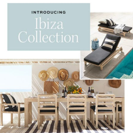 Introducing Ibiza Collection from Pottery Barn