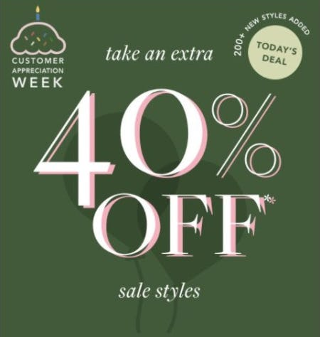 Extra 40% Off Sale Styles from ALEX AND ANI