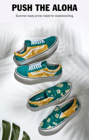 Push the Aloha from Vans