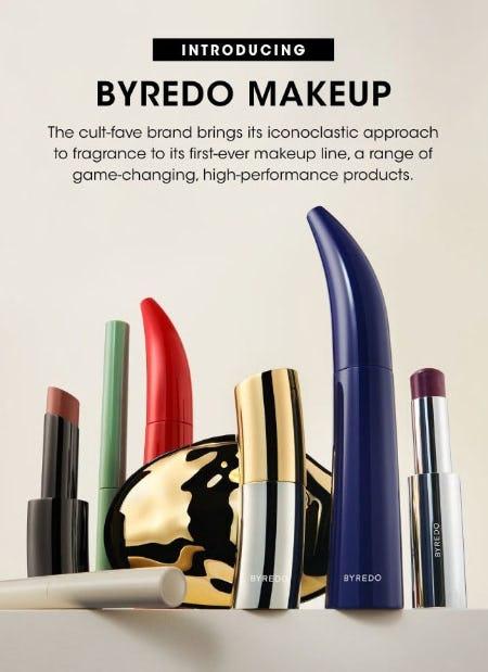 Introducing Byredo Makeup