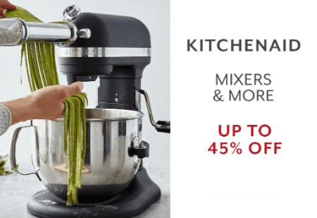 KitchenAid Up to 45% Off from Sur La Table