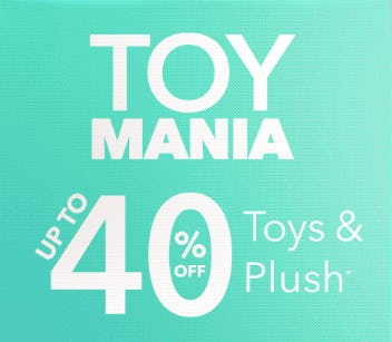 Up to 40% Off Toys & Plush from Disney Store
