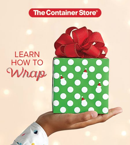 Gift Wrap and Bow Demos