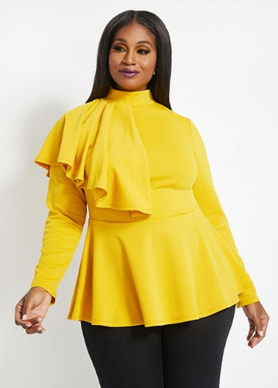 New Top Styles in Our New Favorite Fall Colors from Ashley Stewart