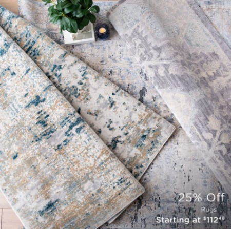 25% Off Rugs from Kirkland's