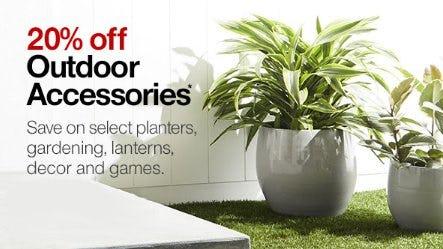 20% Off Outdoor Accessories