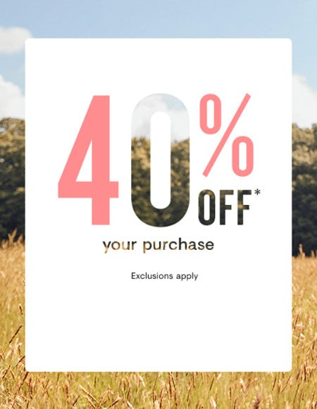 40% Off Your Purchase from Loft