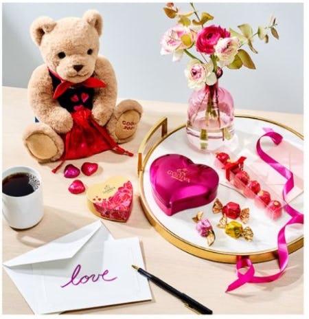 Heartfelt Gifts from Godiva Chocolatier