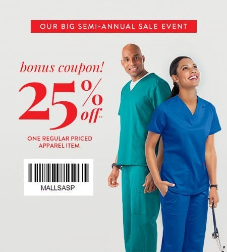 25% OFF RETAIL EXCLUSIVE COUPON!
