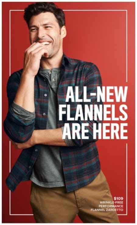 Time for New Flannels