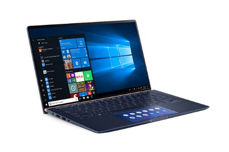 The ASUS ZenBook 14 from Microsoft