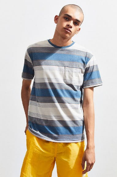 Katin Sunset Stripe Pocket Tee from Urban Outfitters