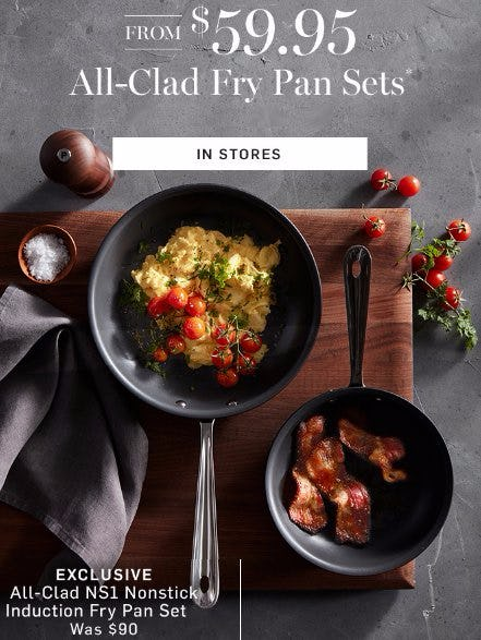 from allclad fry pan sets