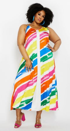 The Maxi Dress from Ashley Stewart