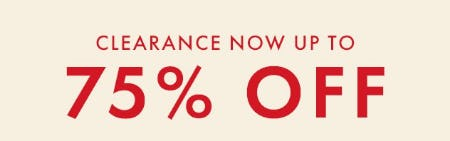 Clearance Now up to 75% Off from Hanna Andersson