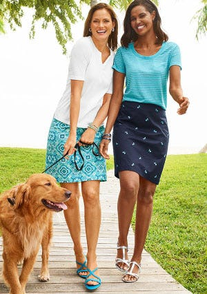 Sun-Kissed Skirts & Dresses from Talbots