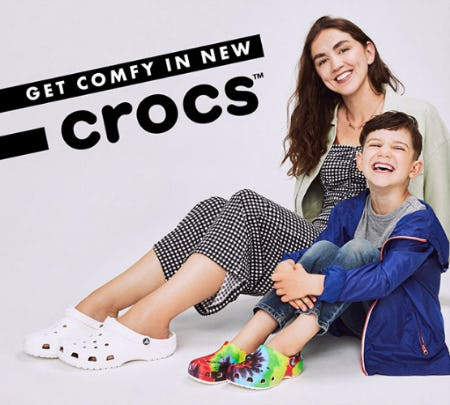 Get Comfy in New Crocs from DSW Shoes