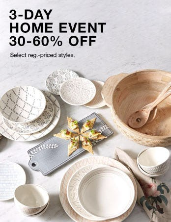 30-60% Off Home Event
