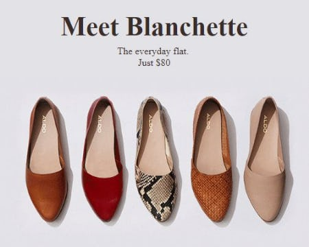 Blanchette: The Most Comfy Flats from ALDO Shoes
