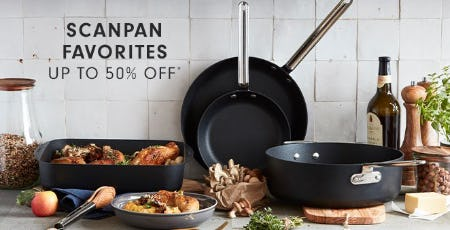 Up to 50% Off Scanpan Favorites