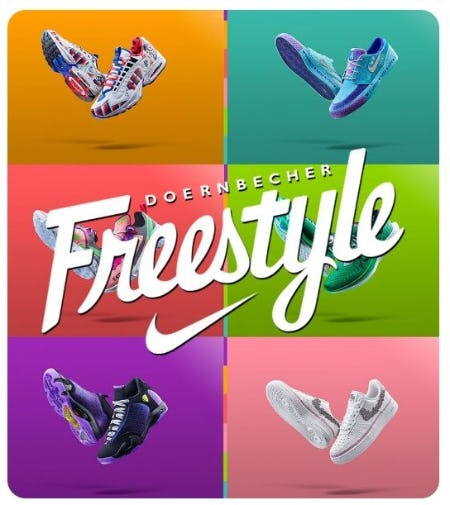 Nike Doernbecher Freestyle 2019 Collection from DTLR