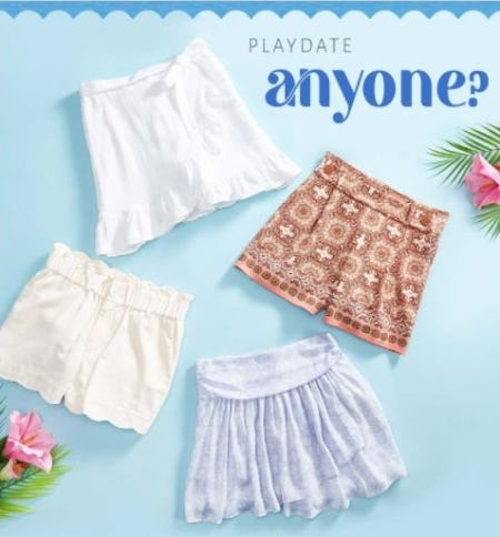 New Summer Shorts & Skorts Have Arrived from Versona