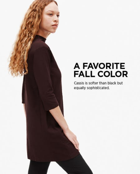 A Favorite Fall Color from Eileen Fisher