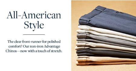 All-American Style from Brooks Brothers