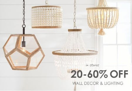 20–60% Off Wall Decor & Lighting from Pottery Barn Kids