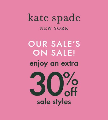 The Memorial Day Sale! from kate spade new york