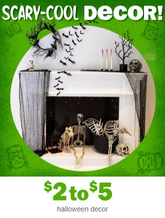 Halloween Decor at $2 to $5 from Five Below