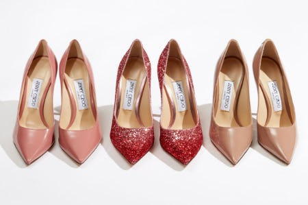 Party-Season Pumps from Jimmy Choo