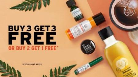 Buy 3, Get 3 Free or Buy 2, Get 1 Free